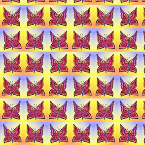 rainbow_butterflies