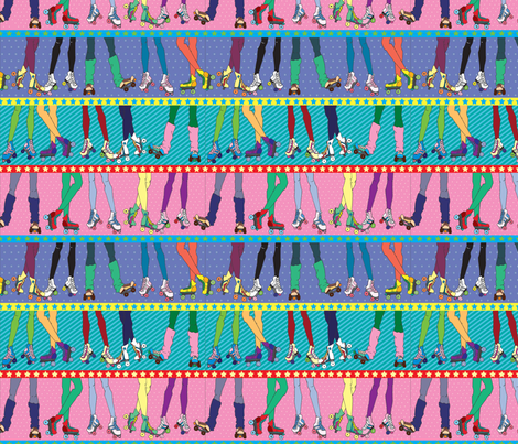 derby fabric by adrianne_adelle on Spoonflower - custom fabric