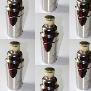 Large Vintage Cocktail Shaker Photo