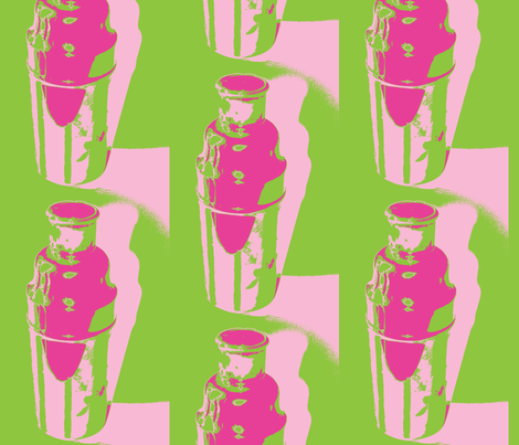 Preppy Martinis fabric by olivemlou on Spoonflower - custom fabric