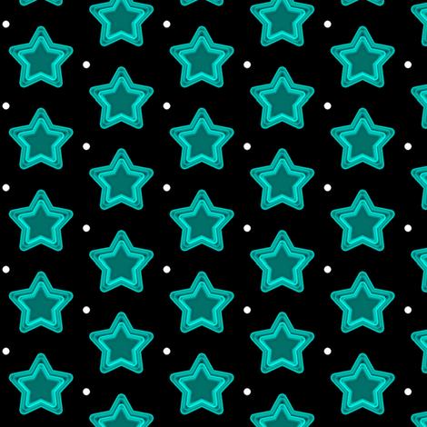 Star Shine - Hidden Passageway - © PinkSodaPop 4ComputerHeaven.com fabric by pinksodapop on Spoonflower - custom fabric