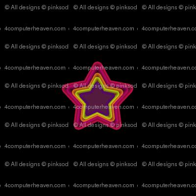 Star Shine Wide Open - Drawn That Way - © PinkSodaPop 4ComputerHeaven.com