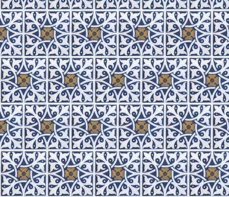 Arabian Tile fabric by relative_of_otis on Spoonflower - custom fabric