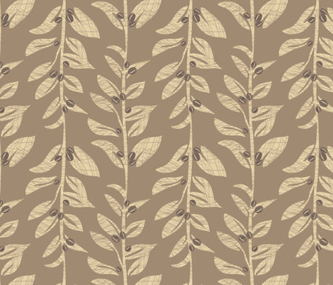 coffee fabric by renule on Spoonflower - custom fabric
