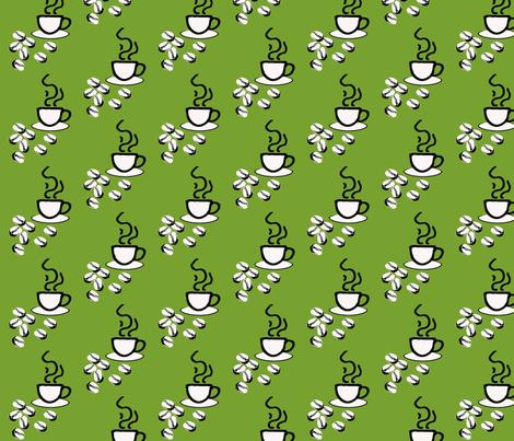 coffeefabric-2 fabric by craftinomicon on Spoonflower - custom fabric