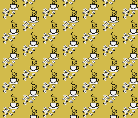 coffeefabric-5 fabric by craftinomicon on Spoonflower - custom fabric