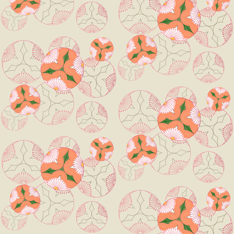 Floral arrangement 1 by Su_G fabric by su_g on Spoonflower - custom fabric