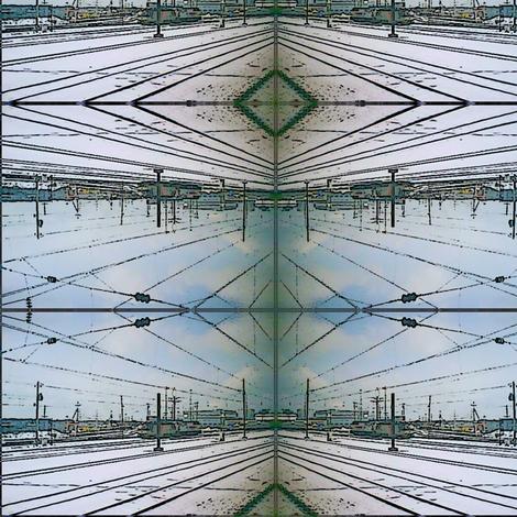 NJTransit-2 fabric by relative_of_otis on Spoonflower - custom fabric