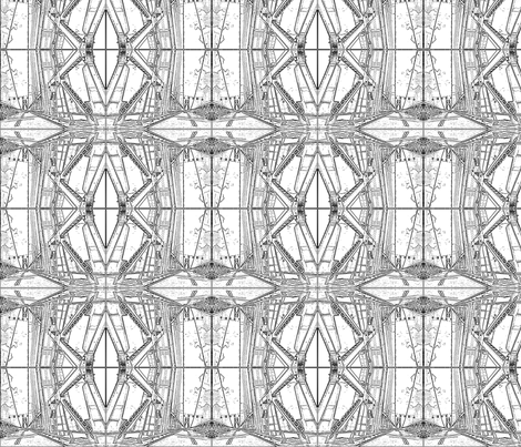 MidHudson Bridge fabric by relative_of_otis on Spoonflower - custom fabric