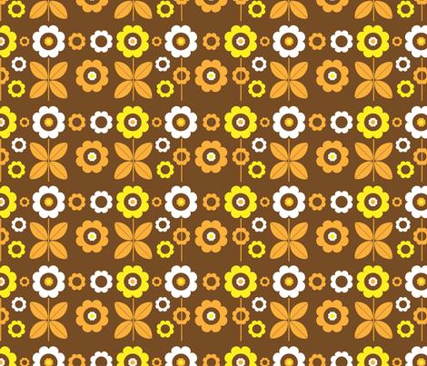 My Vintage Garden fabric by mondaland on Spoonflower - custom fabric