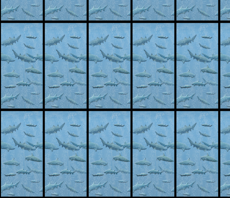 Shark Windows1 fabric by nezumiworld on Spoonflower - custom fabric