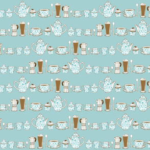 Coffee Culture plain background