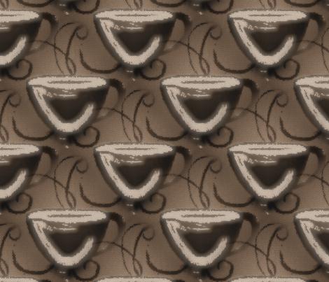 Morning_Coffee fabric by born2sew on Spoonflower - custom fabric