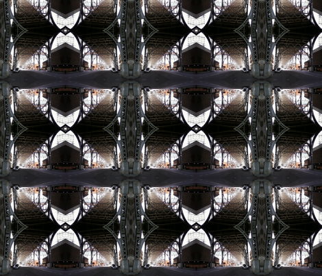 Underpass Cathedral fabric by relative_of_otis on Spoonflower - custom fabric
