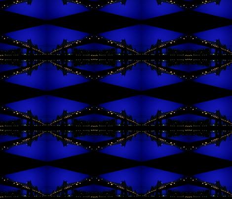 Night Bridge fabric by relative_of_otis on Spoonflower - custom fabric