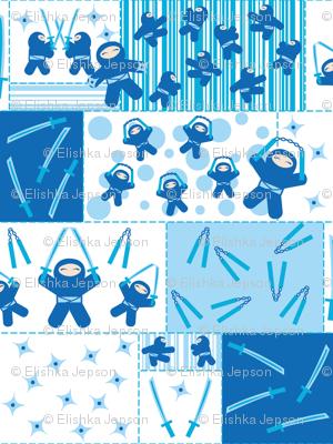 Blue Ninja Blocks