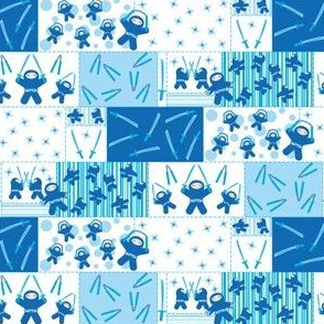 Blue Ninja Blocks