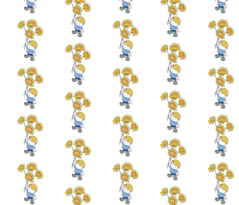 For You fabric by woodledoo on Spoonflower - custom fabric