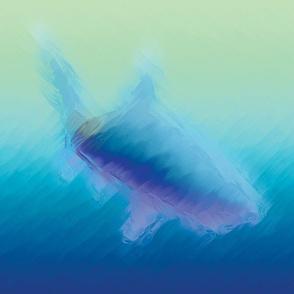 Watery Shark Design, L