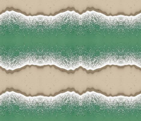 Beach, L fabric by animotaxis on Spoonflower - custom fabric