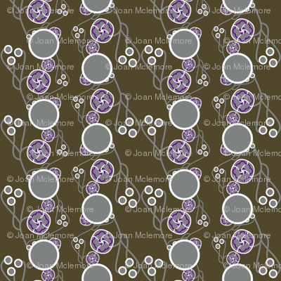 Organic Dots purple