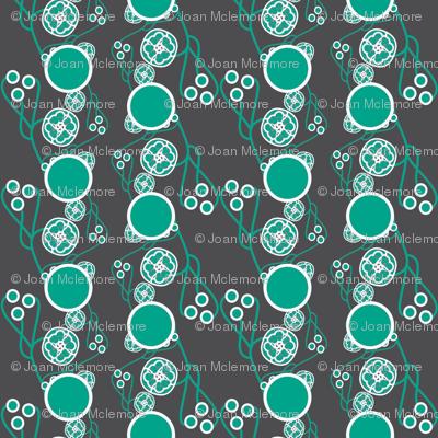 Organic Dots Teal