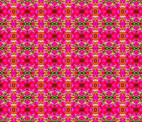 Feverishly Bougainvillea fabric by margaretdaniero on Spoonflower - custom fabric