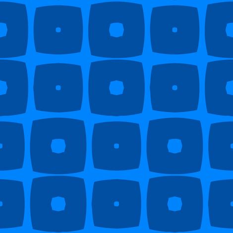 Cubes B (Blue) fabric by nekineko on Spoonflower - custom fabric