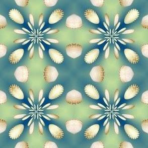3d Floral Scallops Design, S