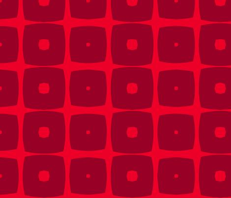Cubes B (Orange) fabric by nekineko on Spoonflower - custom fabric