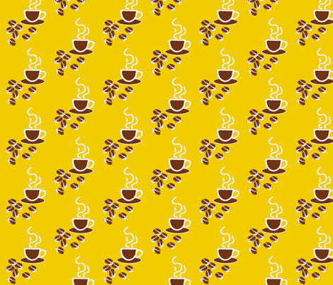 coffeefabric fabric by craftinomicon on Spoonflower - custom fabric