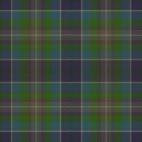 Blue Plaid fabric by eclectic_house on Spoonflower - custom fabric