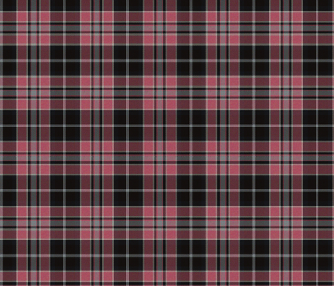Pink, Gray and Black Plaid fabric by eclectic_house on Spoonflower - custom fabric