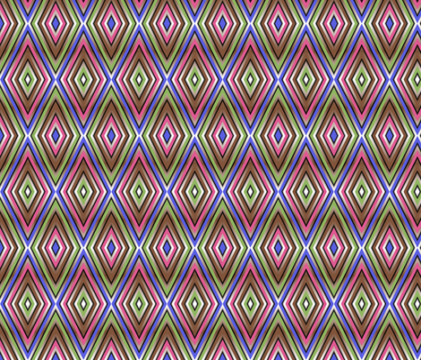 Op Art Diamonds fabric by eclectic_house on Spoonflower - custom fabric
