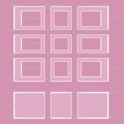 Pink Rectangles for Kids © Gingezel 2011