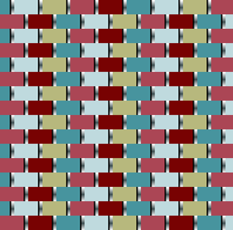 Colored Blocks fabric by eclectic_house on Spoonflower - custom fabric