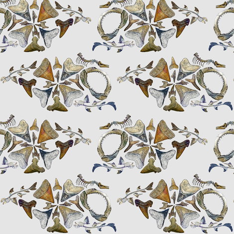 shark1200 fabric by wren_leyland on Spoonflower - custom fabric