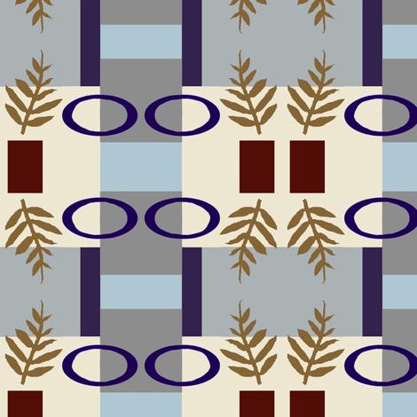 Laurel Redux fabric by boris_thumbkin on Spoonflower - custom fabric