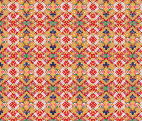 Japanese Paper Collage fabric by jelder on Spoonflower - custom fabric