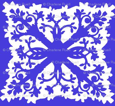 Blue Hawaii Quilt