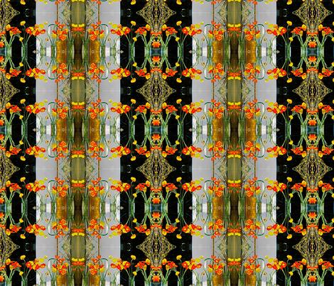 Brooklyn Poppies fabric by relative_of_otis on Spoonflower - custom fabric