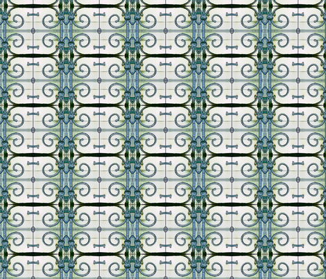 George's Letter fabric by relative_of_otis on Spoonflower - custom fabric