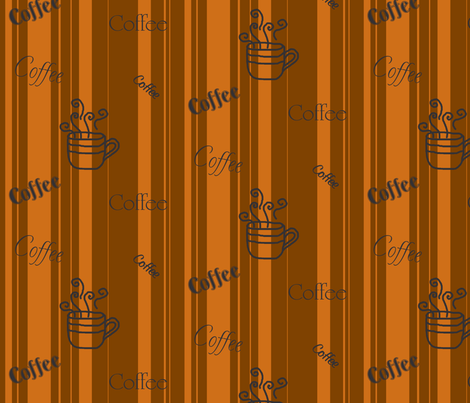 Coffee Time fabric by sewingcrazy on Spoonflower - custom fabric