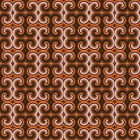 Choco Shake fabric by angelsgreen on Spoonflower - custom fabric