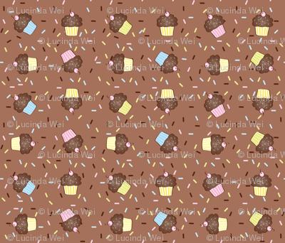 Yumcakes! in milk chocolate - © Lucinda Wei