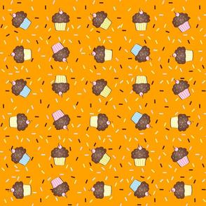 Yumcakes! in sherbet orange - © Lucinda Wei