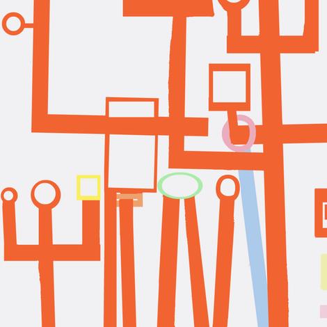 Temple Diagrams fabric by boris_thumbkin on Spoonflower - custom fabric