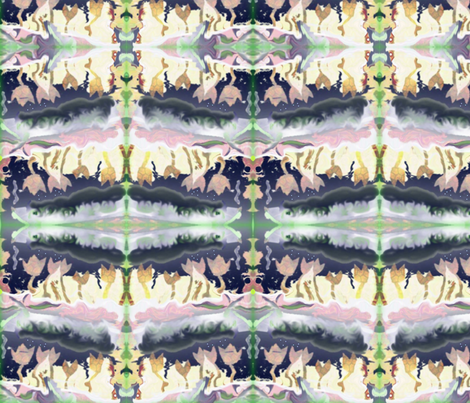 storm tulips  fabric by jellybeanquilter on Spoonflower - custom fabric