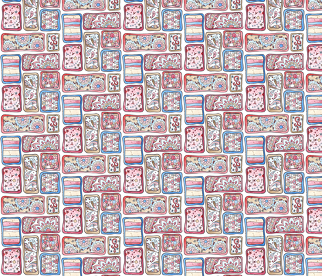 Josie Free Form Blocks fabric by poppydreamz on Spoonflower - custom fabric