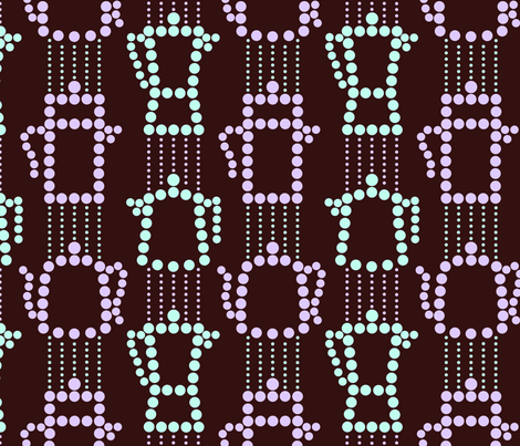 c0ffee and decafe on black coffee - dotty stripes fabric by victorialasher on Spoonflower - custom fabric